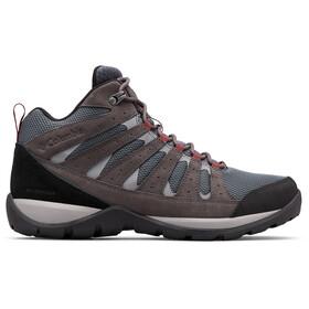 Columbia Redmond V2 WP Mid-Cut Schuhe Herren graphite/red jasper